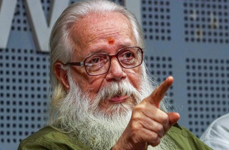 Kerala govt decides to give Rs 1.3 crore to former ISRO scientist Nambi Narayanan