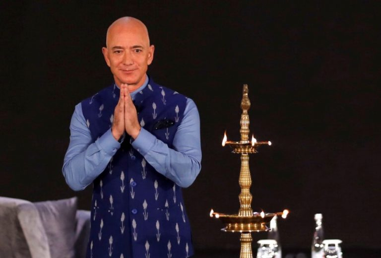 Amazon SMBhav: Jeff Bezos says Amazon India to invest $1 billion to digitise SMBs