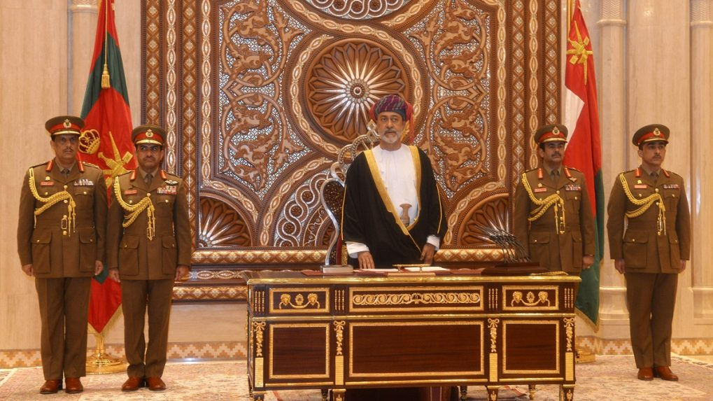 New Oman ruler vows to uphold late sultan's peaceful policy